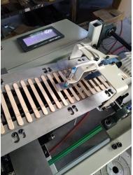 Упаковщик (кассетировщик) для палочки для мороженого, шпателя.