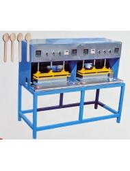 Пресс для формовки профиля деревянной посуды
